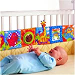 Vicky Store Infant Kid Baby Crib Gall...