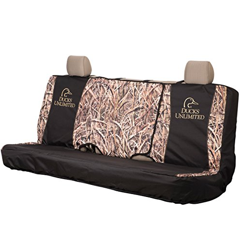 Ducks Unlimited Full-Size Camo Bench Seat Cover (Mossy Oak Shadow Grass Blades Camo, Durable Polyester Fabric, Includes One Seat Cover, Sold (Dallas Cowboys Clearance)