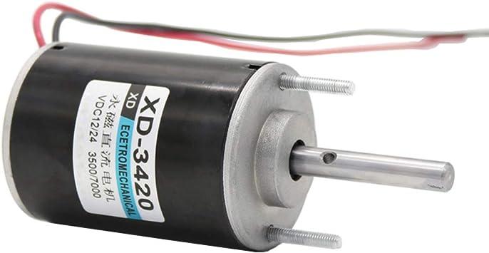 XD-3420 DC12V//24V 30W Reversible Large Power Electric Motor Adjustable Speed
