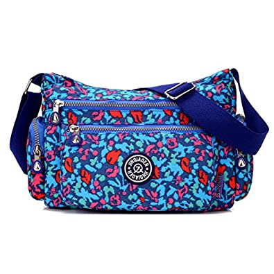 Tiny Chou Lightweight Waterproof Nylon Shoulder Bag Crossbody ...