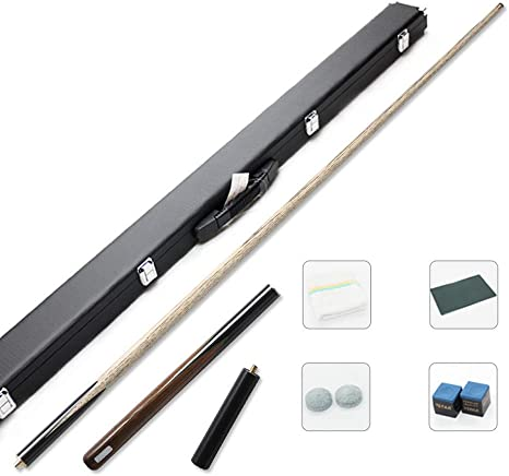 ZHTY Pool Cues, Black Small Head 3/4 Split Billar británico de ...
