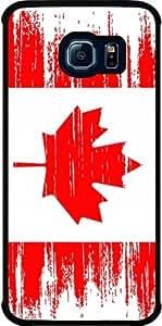 Funda para Samsung Galaxy S6 EDGE (SM-G925) - La Bandera De Canadá En Dificultades by loki1982