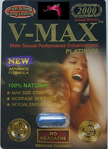 V - MAX 2000 POWER 3PK FOR A NIGHT YOU'LL NEVER FORGET AND WILL LEAVE YOUR PARTNER BEGGING FOR MORE PLUS FREE LOVE POTION EXCLUSIVE PEN (Leave Max)