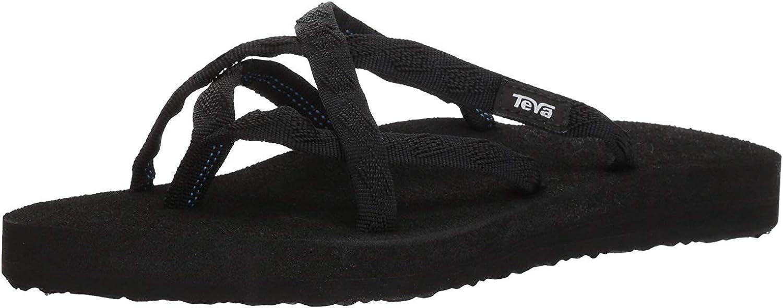 Teva Olowahu Tongs pour femme Black On Black