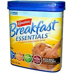 Carnation Instant Breakfast Powder, Rich Milk Chocolate, 17.7 oz