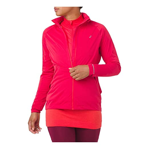 cc4280280 Amazon.com: ASICS 2012A018 Women's System Jacket: Clothing