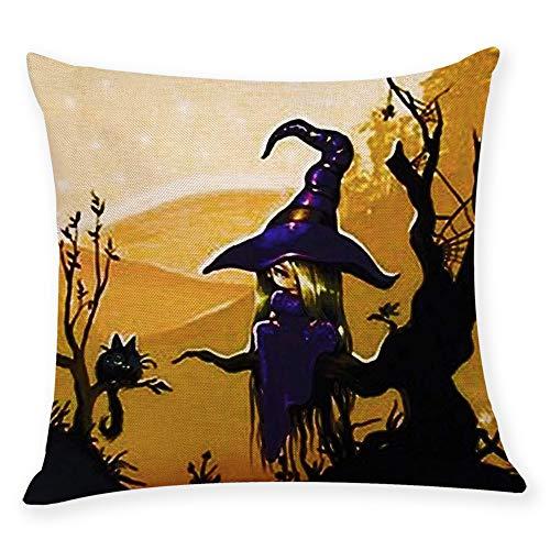 WFeieig_Halloween Fall Pillow Covers Pumpkin Farm Fresh Give Thanks Autumn Theme Farmhouse Decorative Throw Pillow Covers -