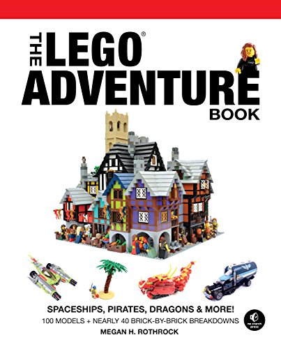 The LEGO Adventure Book, Vol. 2: Spaceships, Pirates, Dragons & (Halloween Math Activities Middle School)