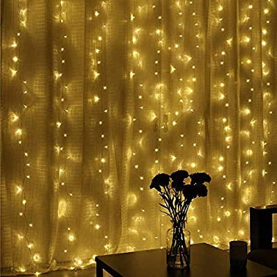 [ 6 PACK ] LED Starry String Lights, Poshei 30 Leds Christmas Lights 10ft/3M Flexible Copper Wire Light Battery Operated Decorative Lighting for Bedroom Patio Christmas Wedding Parties ( Warm White )