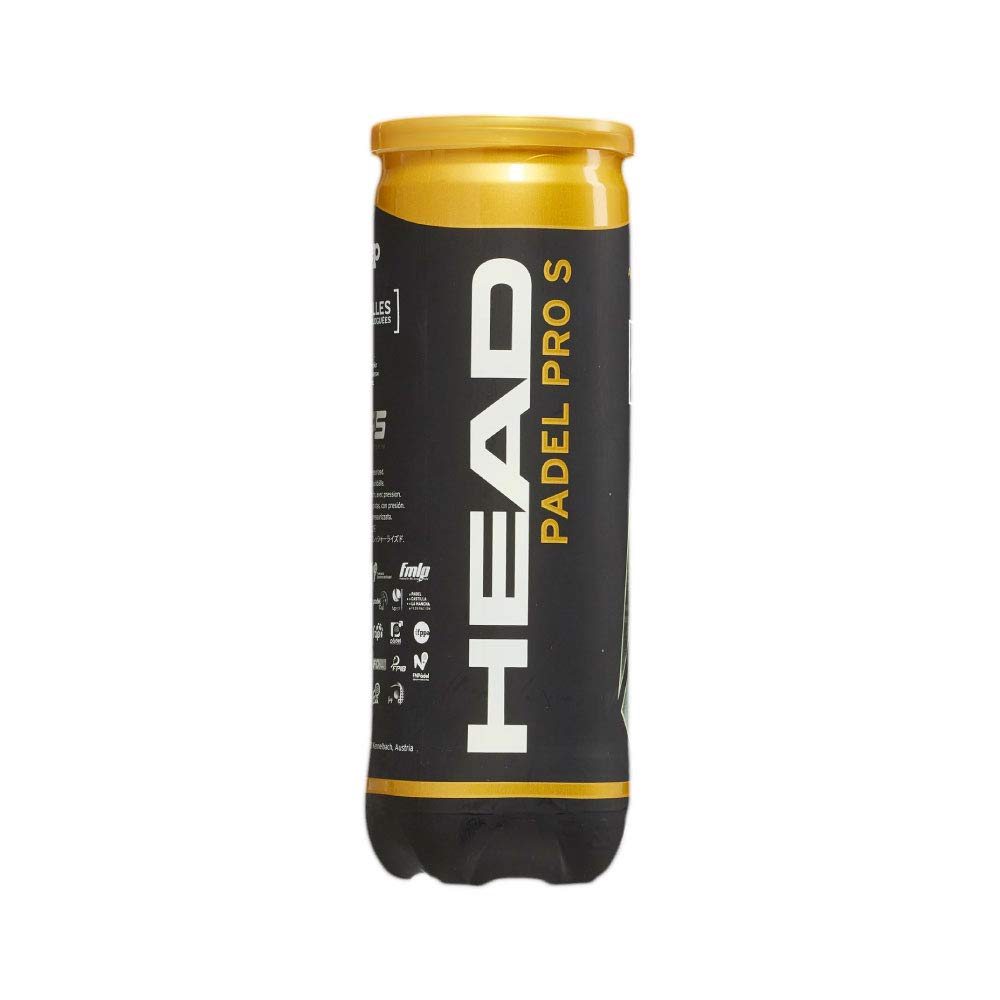 Head Padel Pro S Pelotas, Adultos Unisex, Negro: Amazon.es ...