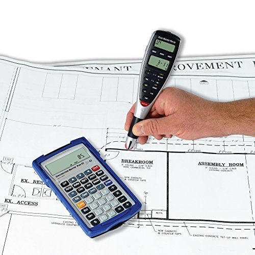 Calculated Industries 6135 2 Piece Scale Primary Pro XE Advanced Digital Plan Measure | Bundled with Free Construction Primary Plus EZ Contractors Prompting Calculator