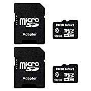 Micro Center 32GB Class 10 Micro SDHC Flash Memory Card with Adapter for Mobile Device Storage Phone, Tablet, Drone…