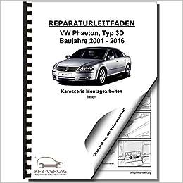 01/> Karosserie Montagearbeiten Innen VW Phaeton Reparaturanleitung Typ 3D