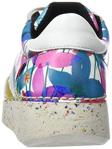 ART 1135 Fantasy I Express, Zapatos de Cordones Derby Unisex Adulto Blanco (Clovers)