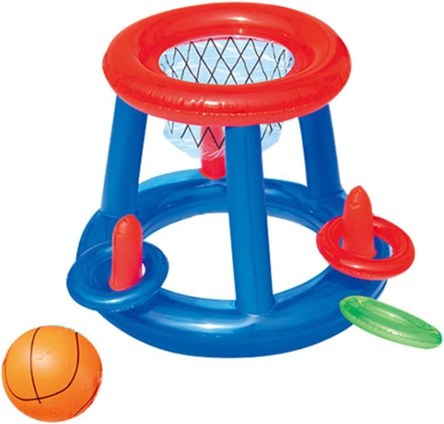 Ailyoo Cesta del Baloncesto del Agua con la Bola, aro Inflable ...