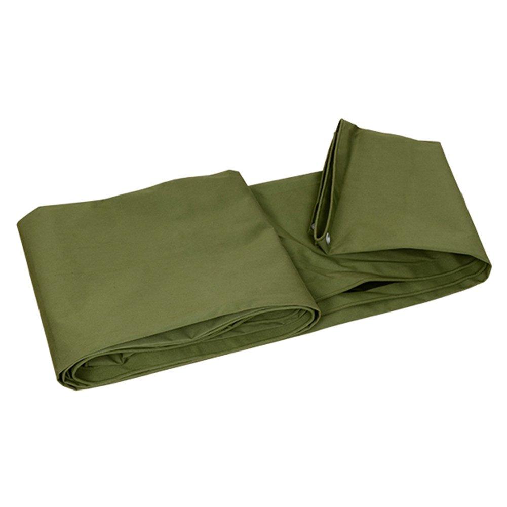 DYFYMXOutdoor Ausrüstung Dickes Segeltuch Segeltuch Segeltuch Wasserdichtes Tuch, Wasserdichte Sonnenschutzplane, LKW-Schattenstoff windfeste haltbare Isolierung, Grün @ B07J9T3GQM Tunnelzelte Eigenschaften 226fb4