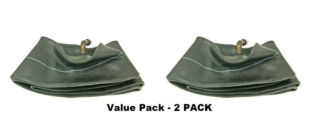 Pair of 2 (two) Firestone 4.10/3.50-4 Inner Tube with TR87 Bent Metal Valve Stem