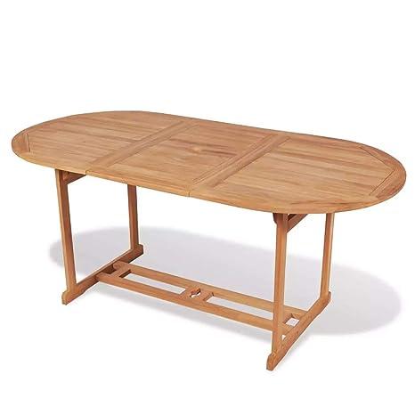 Tuduo Table de Salle à Manger d\'extérieur 180 x 90 x 75 cm ...