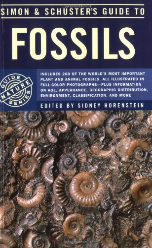 Simon & Schuster'S Guide To Fossils (Nature Guide Series)