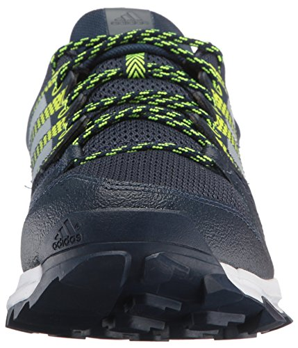Adidas Mens Galaxy M Trail Runner Collegiale Blu / Bianco / Giallo Solare