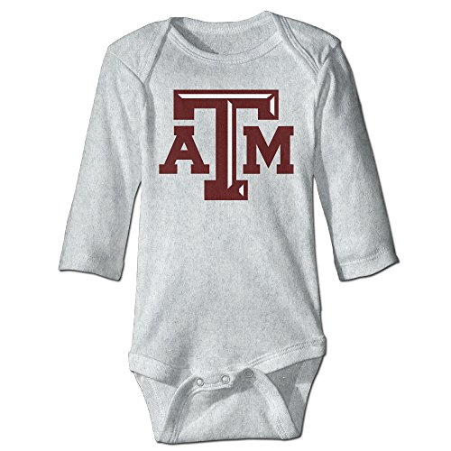Price comparison product image OOKOO Baby's Texas A&M University ATm Logo Bodysuits Ash 18 Months