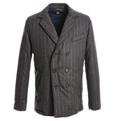 Eleventy Herren 979SP0039SPO20004511 Grau Wolle Mantel