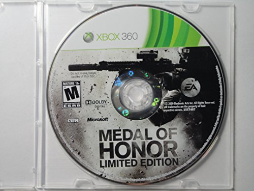 Medal of Honor Limited Edition COMPLETE XBOX 360 Game