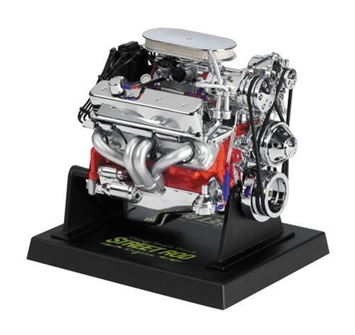 Liberty Classics Chevy Street Rod Engine Replica, 1/6th Scale Die Cast by Liberty