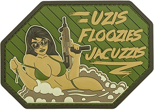 Evike - Mil-Spec Monkey Uzis Floozies Jacuzzis PVC Patch (Color: Multicam)