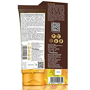 WOW Skin Science Ubtan Face Wash with Chickpea Flour, Turmeric, Saffron, Almond Extract, Rose Water & Sandalwood Oil…