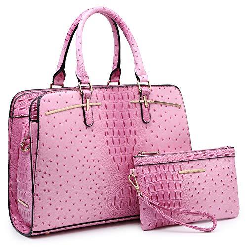 Pink Satchel Handbags - 7