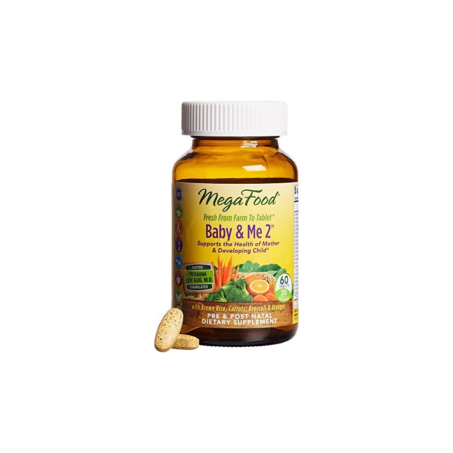 MegaFood Baby & Me 2, Key Nutrients Vital to Prenatal Support of Both Mother & Baby
