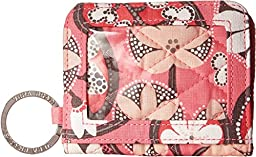 Vera Bradley Women\'s Campus Double ID Blush Pink Coin or Card Case