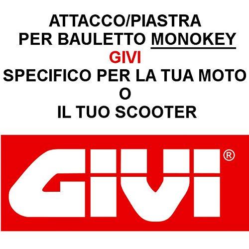 511F Halterung f/ür Top Cases Suzuki GSF 1200 Bandit 1996 1999 Monokey Givi