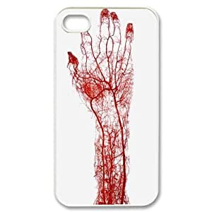 Customized Bloody Hand Iphone 4,4S Case, Bloody Hand DIY Case for iPhone 4, iPhone 4s at Lzzcase WANGJING JINDA