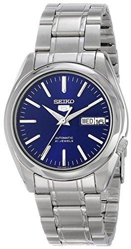 Seiko Reloj Analogico para Hombre de Automático con Correa en Acero Inoxidable SNKL43K1: Seiko: Amazon.es: Relojes