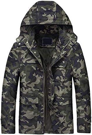 ژاکت های کت و شلوار نظامی گاه به گاه مردان L'ASHER ژاکت های نخی ارتش پالتو Bomber Bomber Army