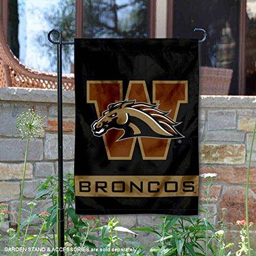 College Flags and Banners Co. Western Michigan Broncos Garden Flag