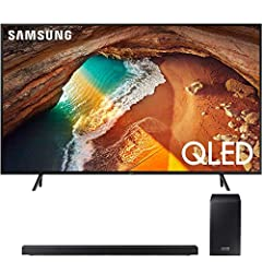 Incredible Color and Clarity - Step Up to a Whole New World of QLED Color.Quantum Dot technology lets you experience images bursting with a dazzling range of over one billion colors, each upscaled to incredible clarity thanks to our intellige...