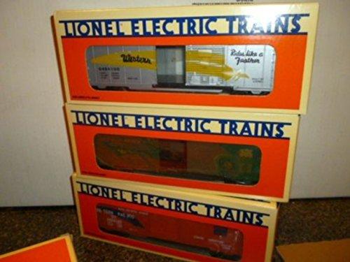 NEW LIONEL 19257- 6464 BOXCAR SERIES 2 SET - 3 CARS- (Lionel 6464 Boxcar)