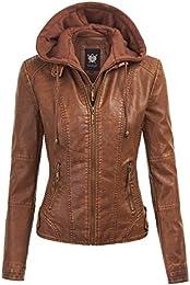 Amazon.com: XXL - Leather &amp Faux Leather / Coats Jackets &amp Vests
