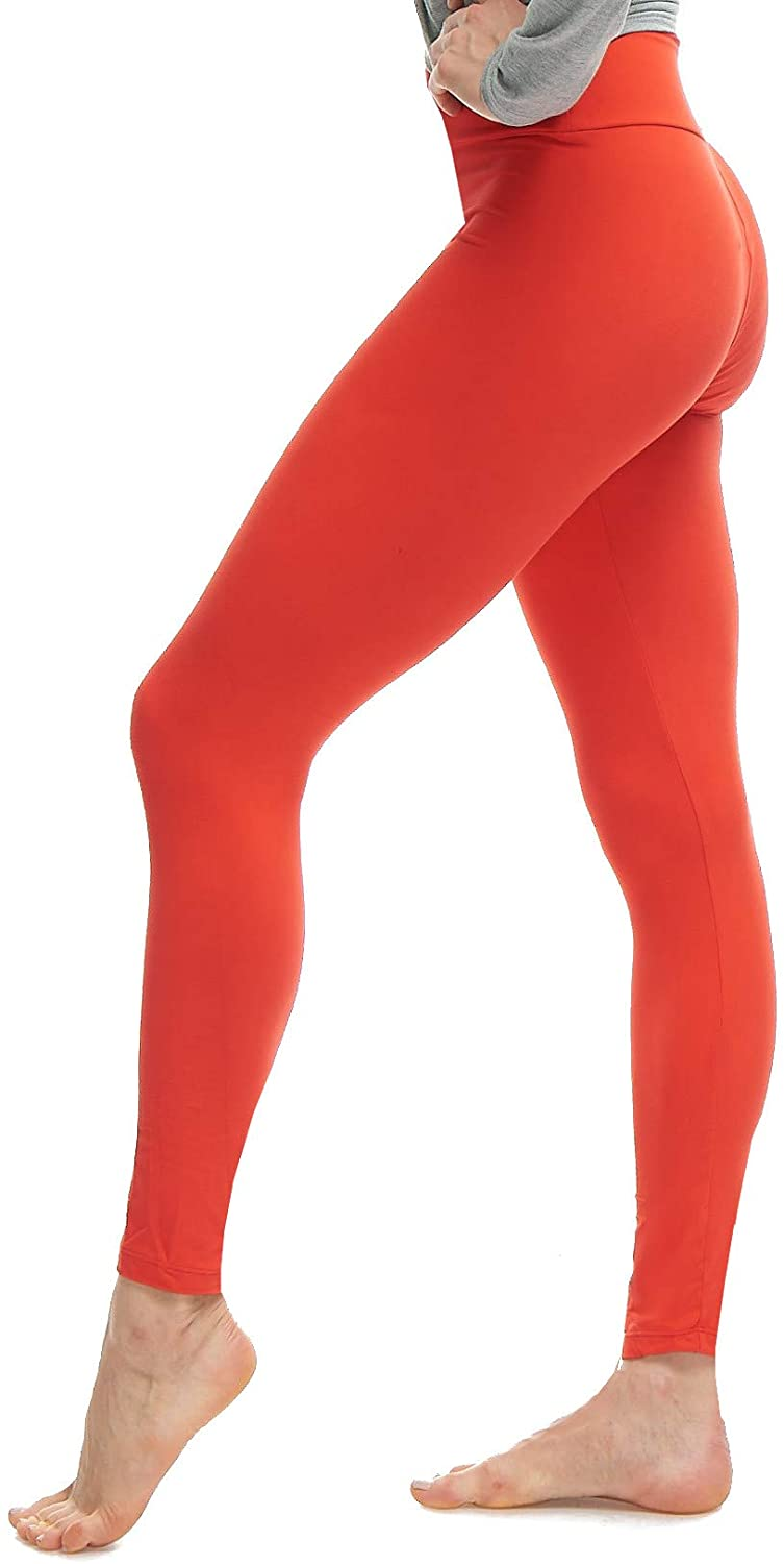 LMB Plus Size Premium Quality Extra Soft Leggings for Tall and Curvy