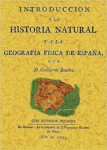 Introducción a la historia natural y a la geografía física de ...