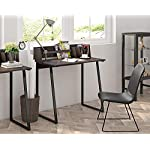 FITUEYES Computer Desk with Storage Wood Color Matchwood Writing Table Workstation for Home Office 82,4×51,2×93,5cm…
