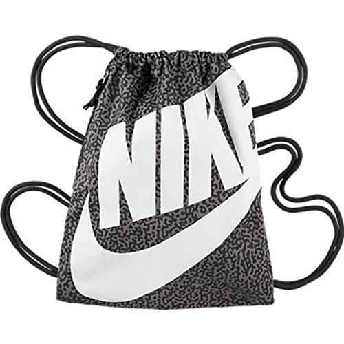 5d7cba4c0dc7d New Nike Heritage Gymsack Dark Ash Dark Ash White - Buy Online in UAE.
