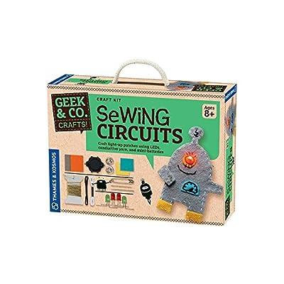 Geek & Co. Craft Sewing Circuits Craft Kit: Toys & Games