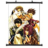 "Saiyuki Anime Fabric Wall Scroll Poster (32""x44"") Inches. [WP] Saiyuki 18(L)"
