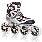 Rollerblade Tempest 100 Inline Skates Black / White with Red-12.5