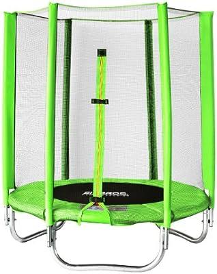 SixBros. SixJump 1,40 M Trampolín Cama elástica de jardín Trampolín Verde - T140/1821: Amazon.es: Juguetes y juegos