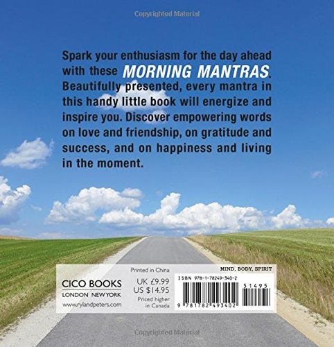Morning Mantras: To inspire your day: Amazon co uk: CICO Books